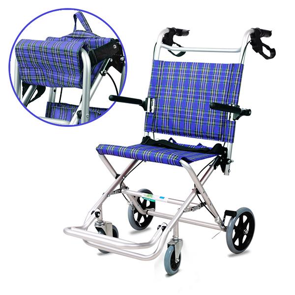 Other Gadgets Aluminum Light Foldable Folding Wheelchair