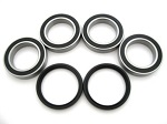 Rear Axle Bearings and Seals Kit Suzuki LT-R450 LTR450 2006-2009