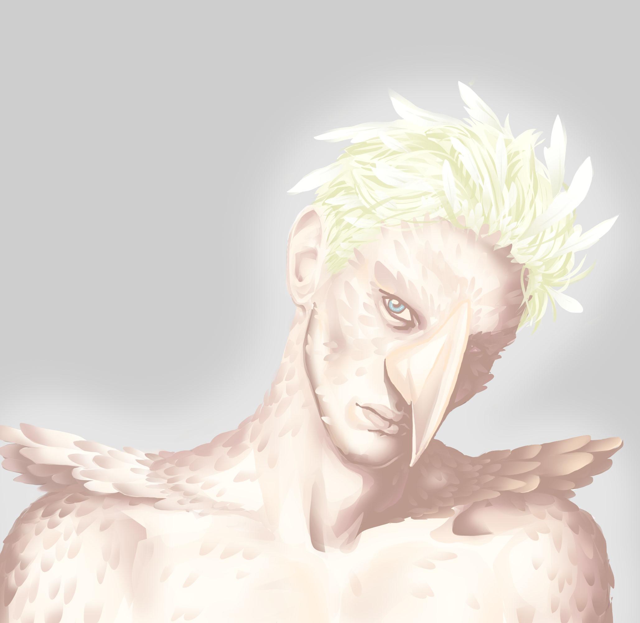 Veela!Draco (art) - anokaba - Harry Potter - J. K. Rowling ...