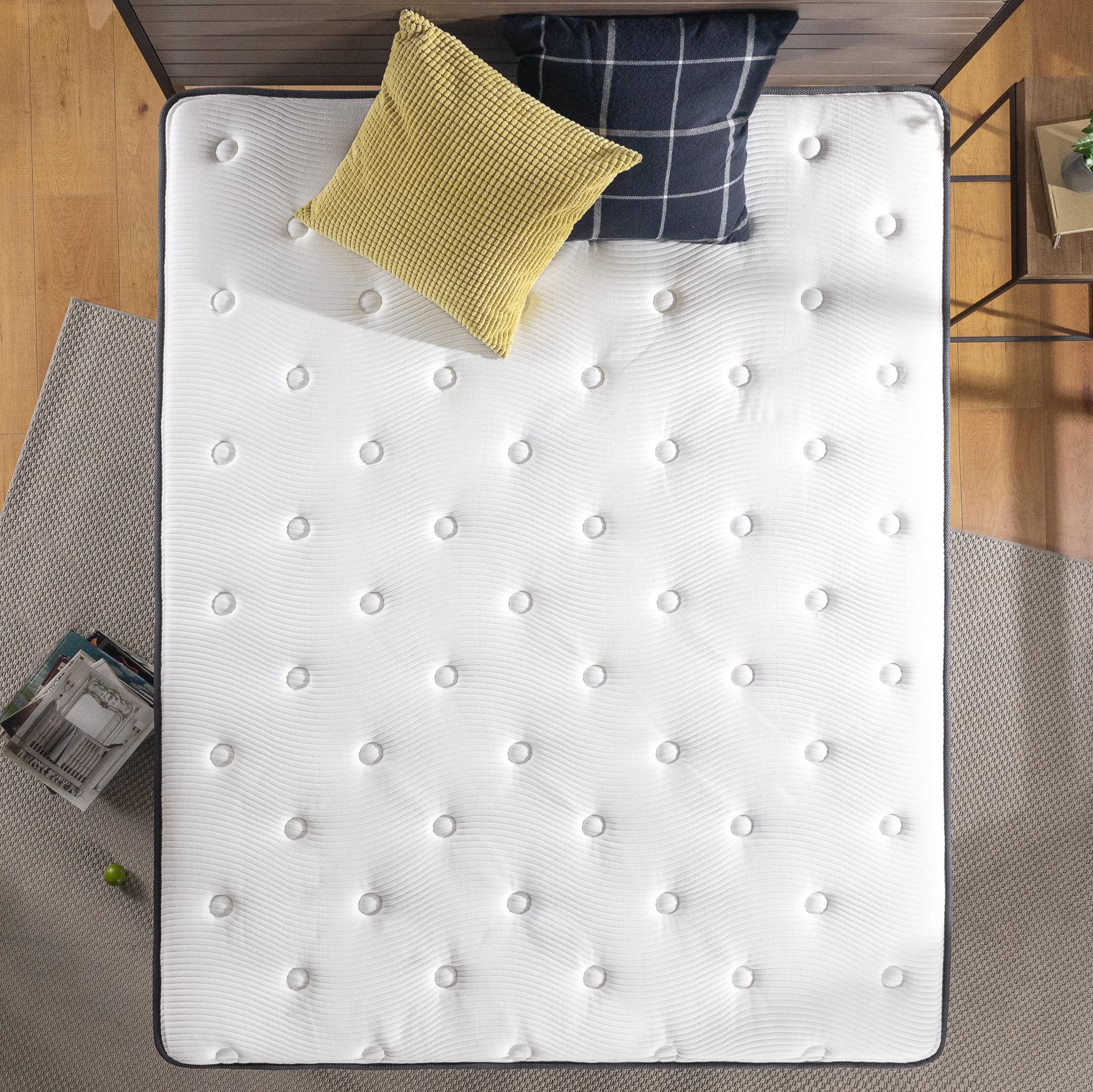 thumbnail 116 - Zinus Mattress Queen Double King Single Bed Memory Foam Pocket Spring Hybrid