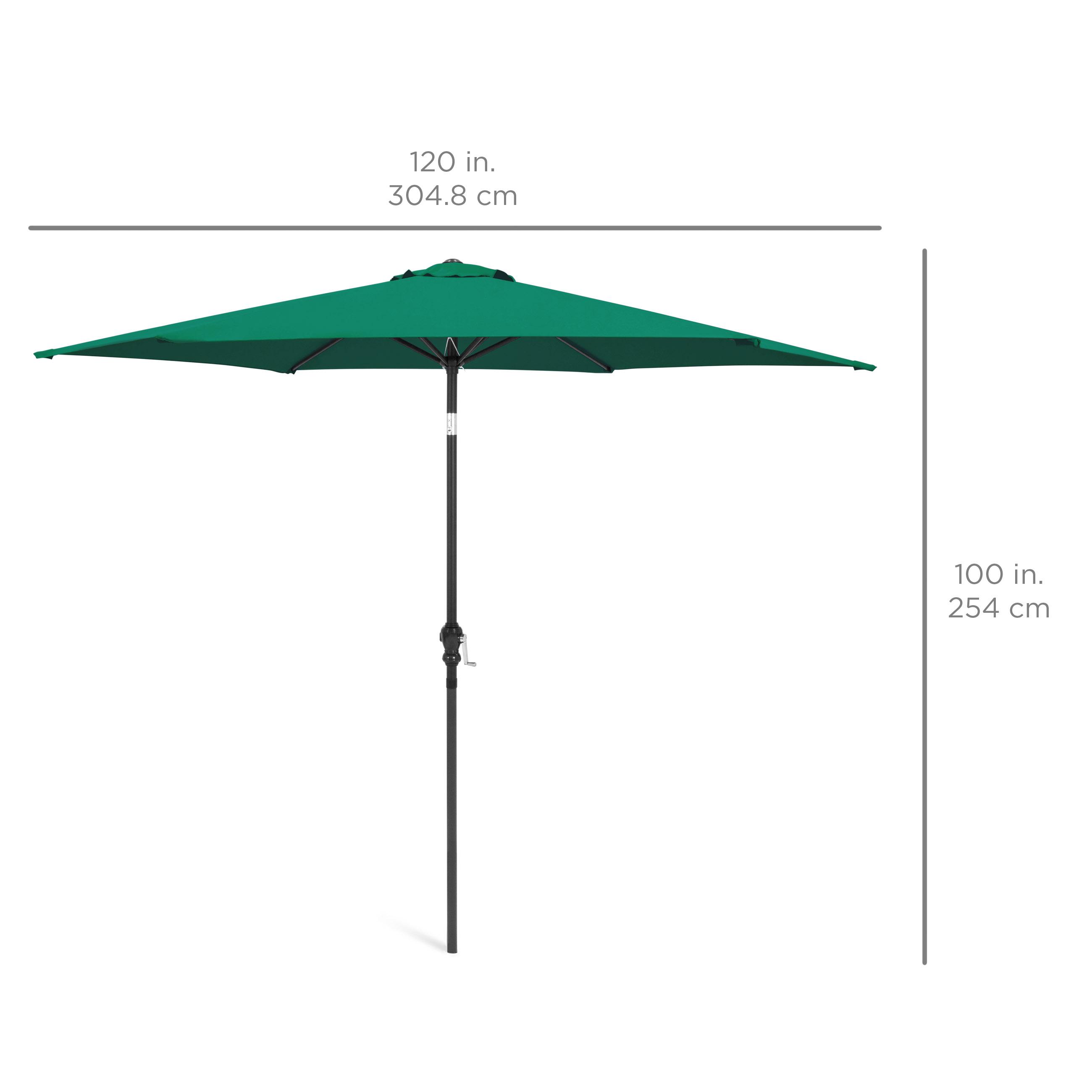 BCP-10ft-Outdoor-Steel-Market-Patio-Umbrella-Decoration-w-Tilt-Crank thumbnail 42