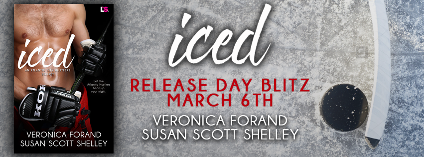 Iced by Veronica Forand and Susan Scott Shelley banner