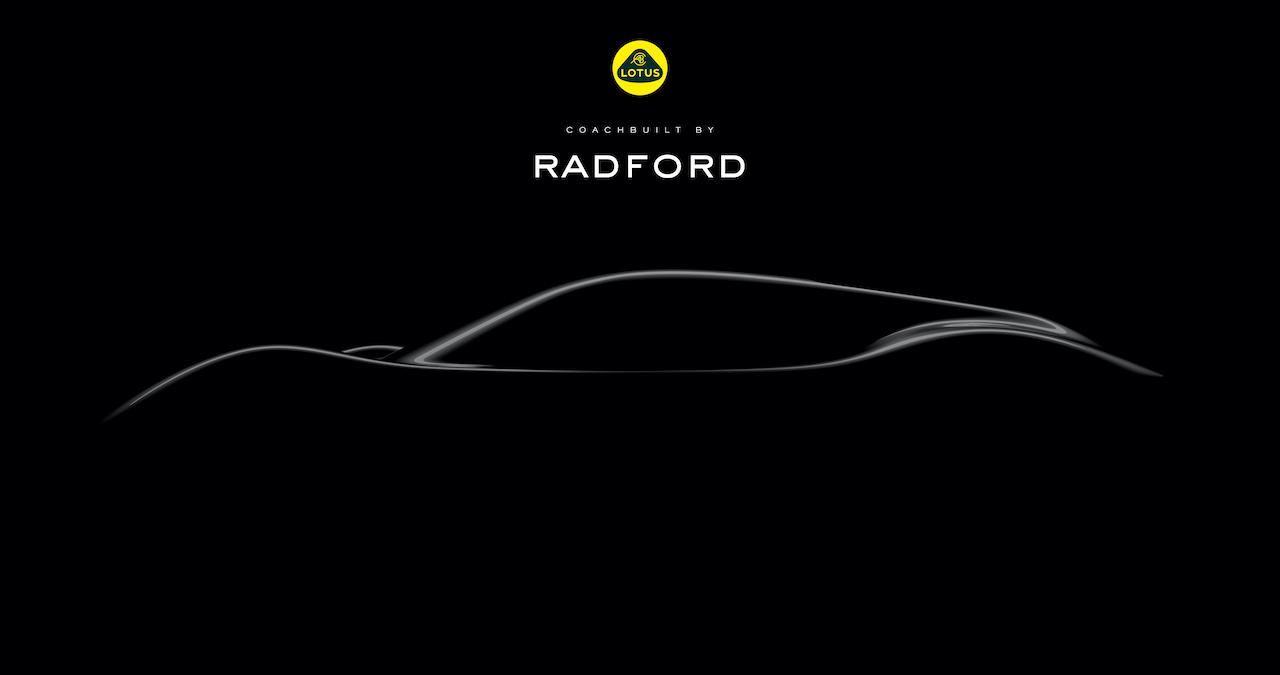 Radford unveils its very first sportscar the Type 62-2