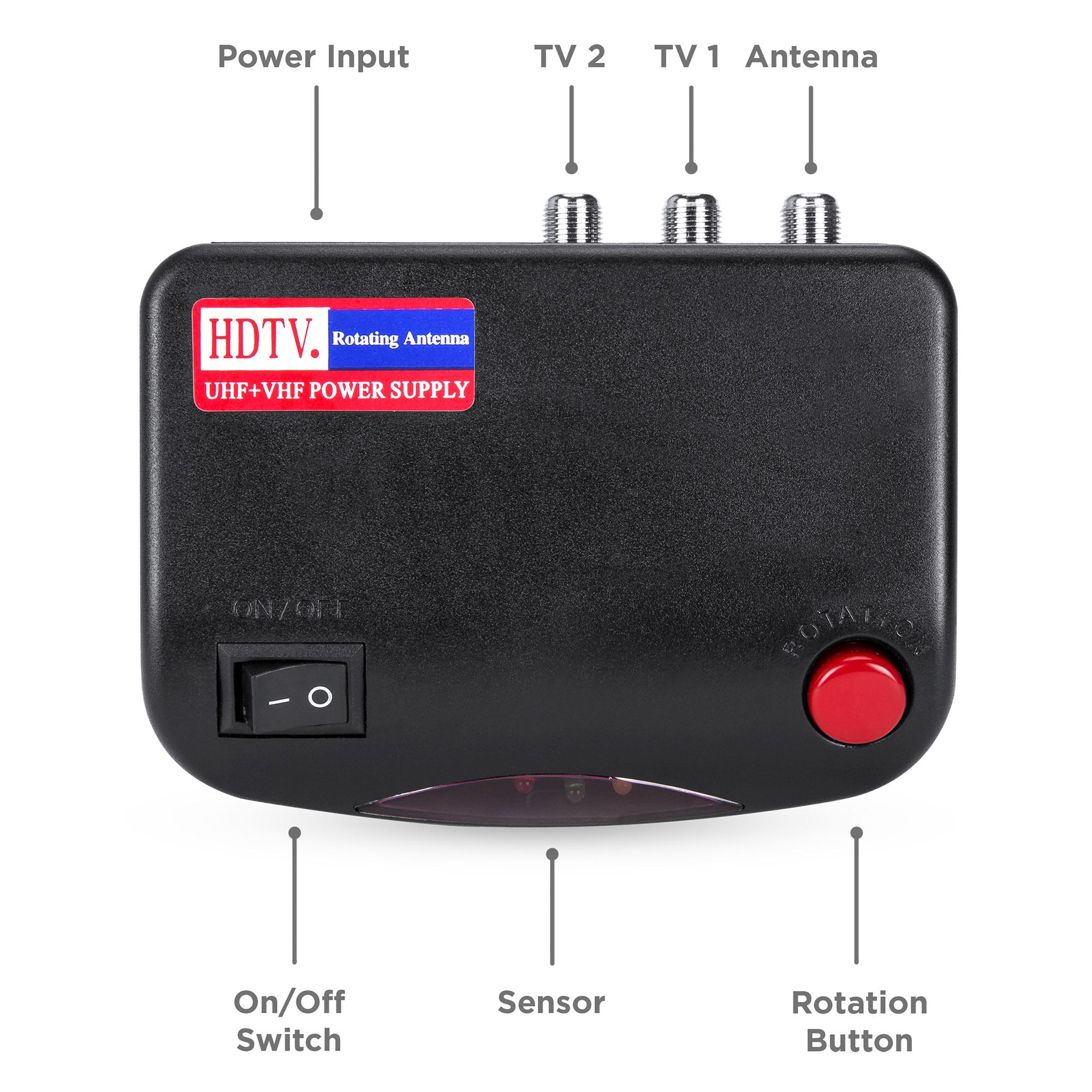 Bcp 360 Hdtv Rotor Remote Antenna Ebay
