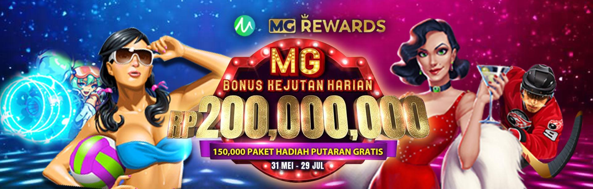 MG Daily Bonus Drop