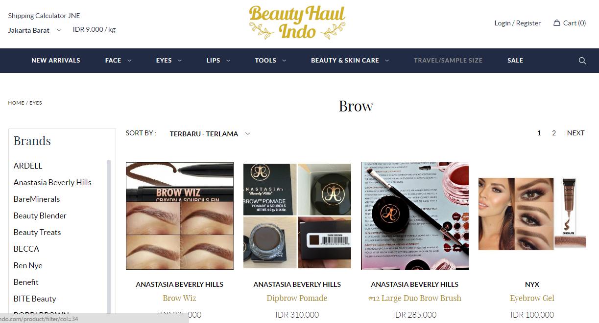 brow BeautyHaulindo