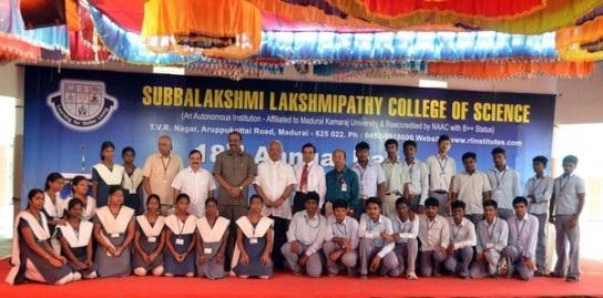 Subbalakshmi Lakshmipathy College of Science, Madurai Image