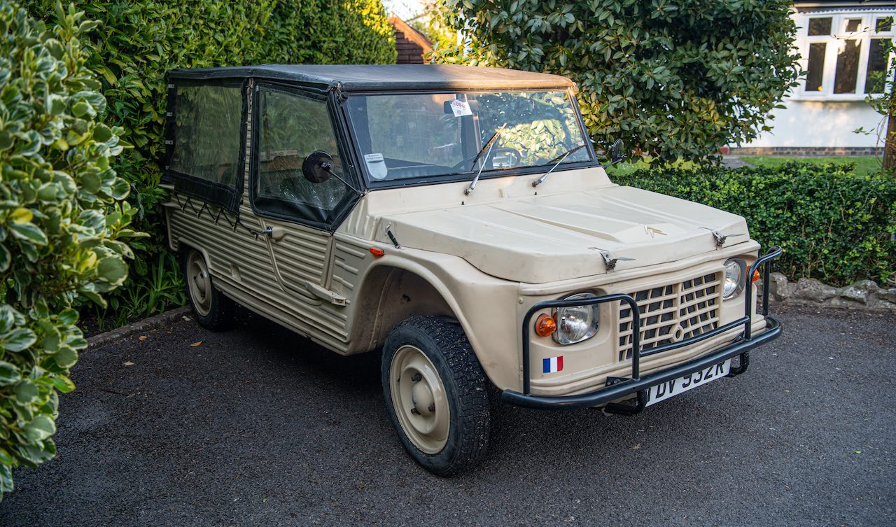 Citroën Méhari owned by Dave Davies of The Kinks up for auction