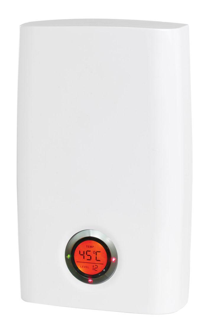 wahlbach durchlauferhitzer elektronisch 18 21 24 kw einstellbar mit lcd display ebay