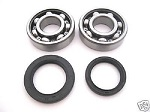Main Crank Shaft Bearings and Seals Kit Kawasaki KX500 1983-2004