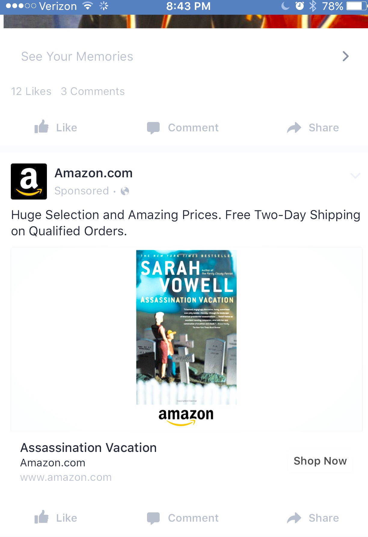 Why are Amazon and Facebook Stalking Me?