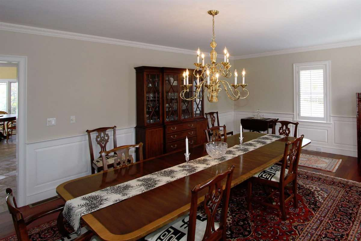 18 Farm Hill Road Dining Room