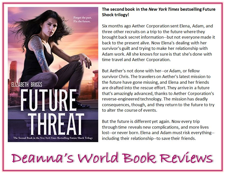 Future Threat by Elizabeth Briggs blurb