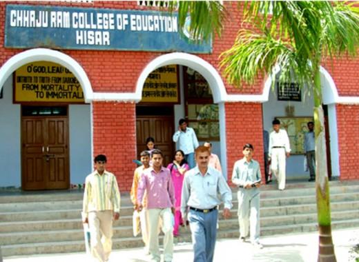 Chajju Ram College of Education, Hisar