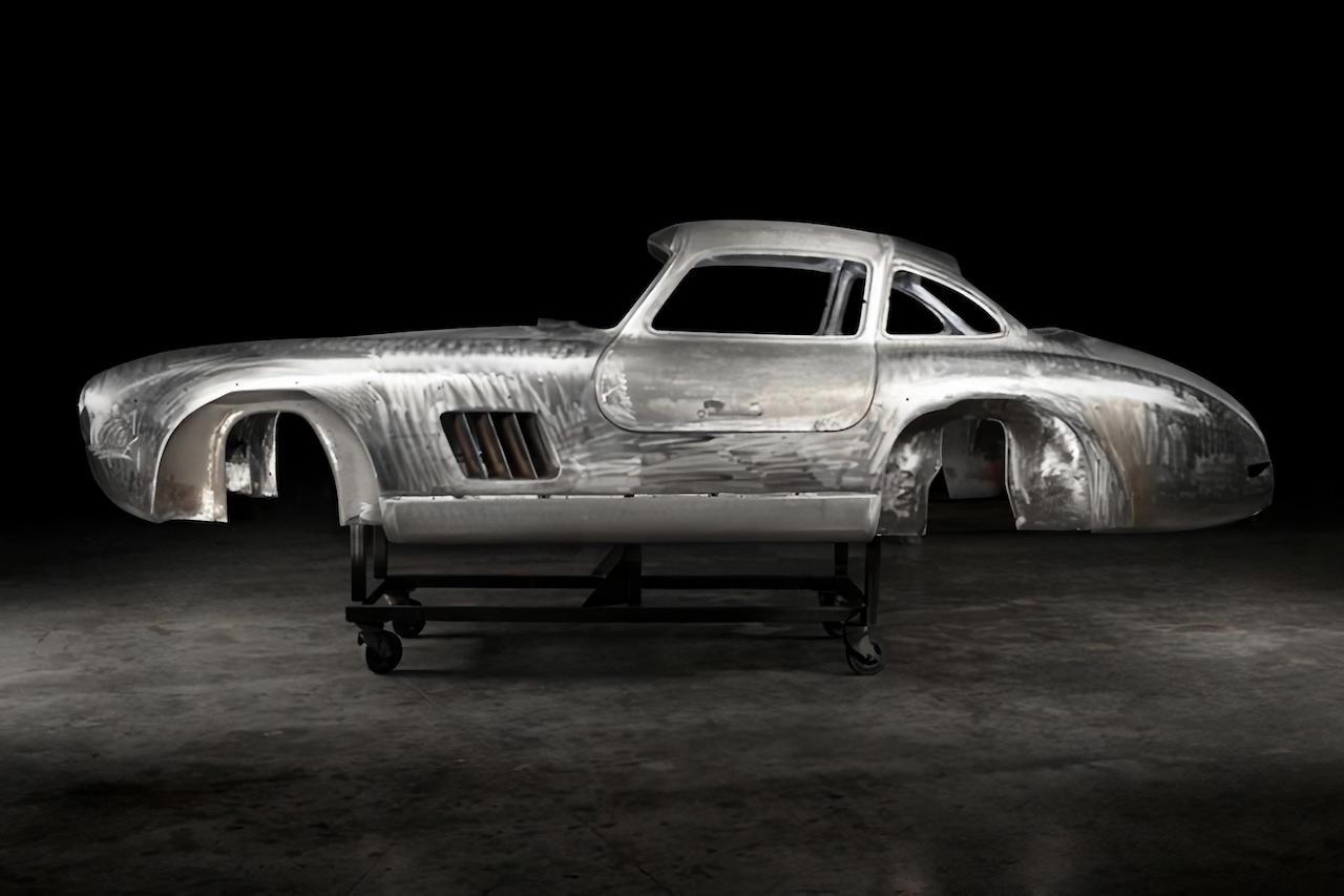 Thornley Kelham unveils restored Mercedes-Benz 300SL Gullwing