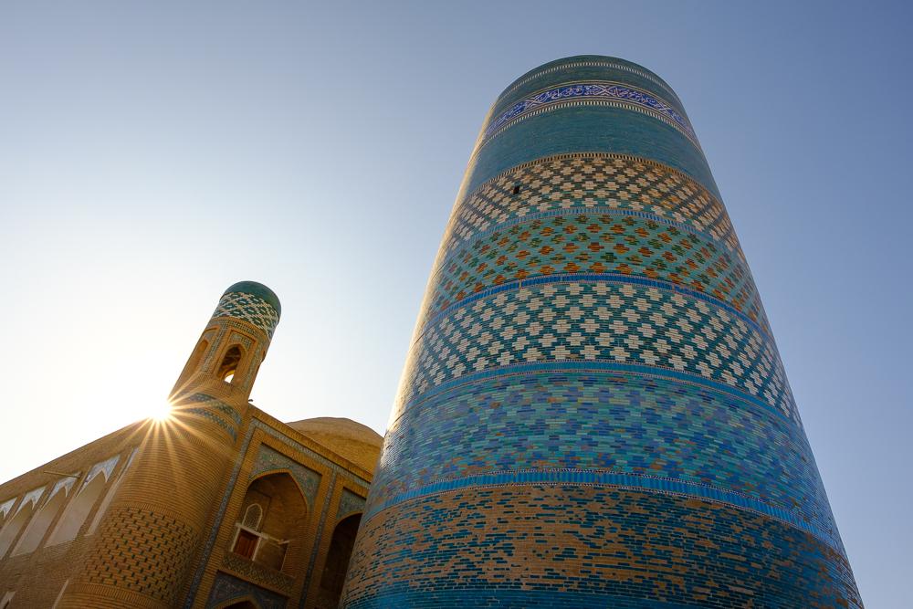 minaret khiva