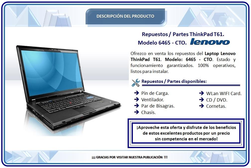Repuestos Laptop