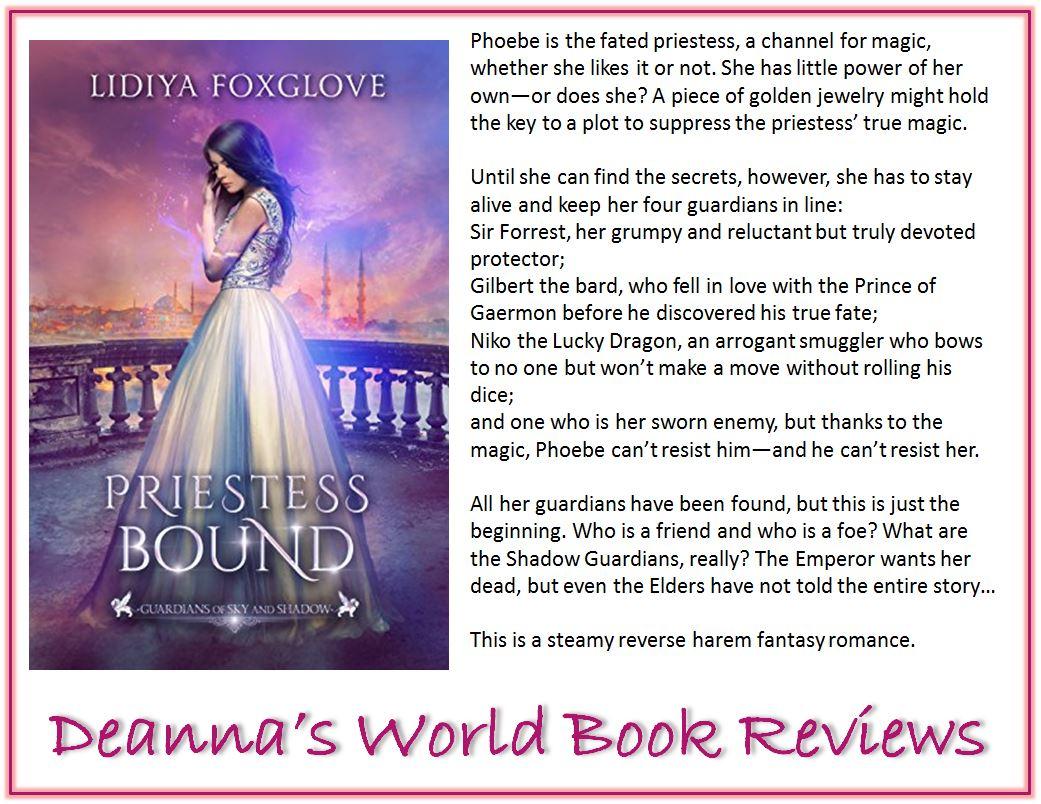 Priestess Bound by Lidiya Foxglove blurb
