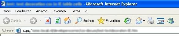 Im Internet Explorer 6 gab es keine Möglichkeit, Webseiten in Registerkarten zu organisieren.