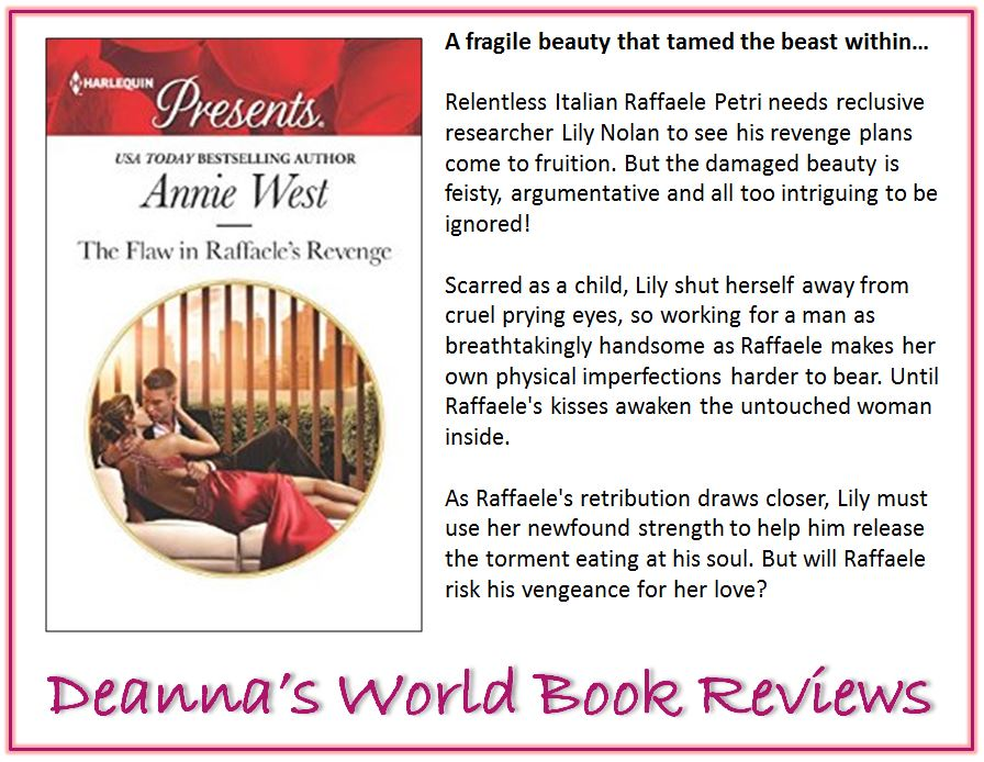 The Flaw In Raffaele's Revenge by Annie West blurb