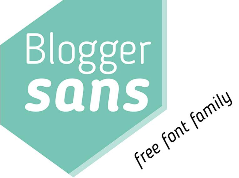 blogger free font