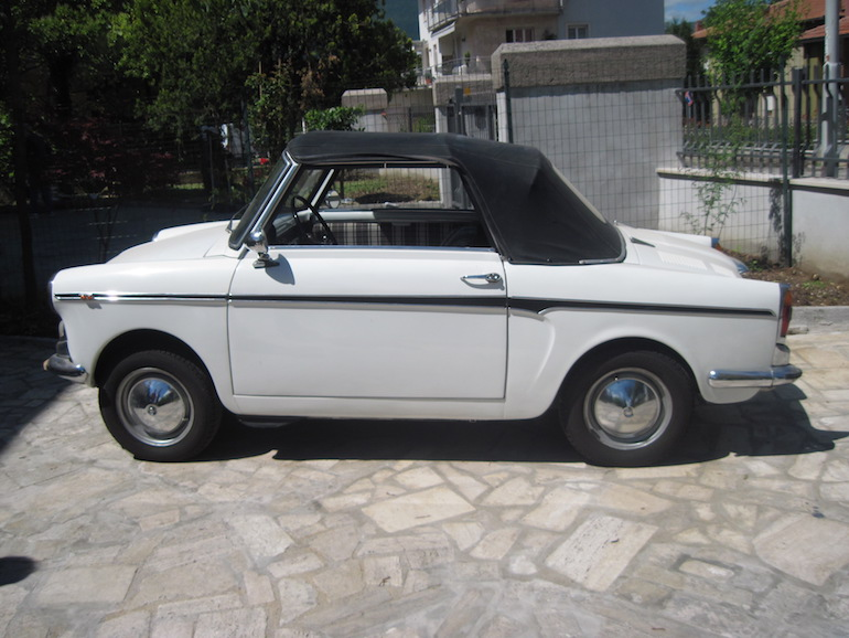 1960 BIANCHINA CABRIOLET