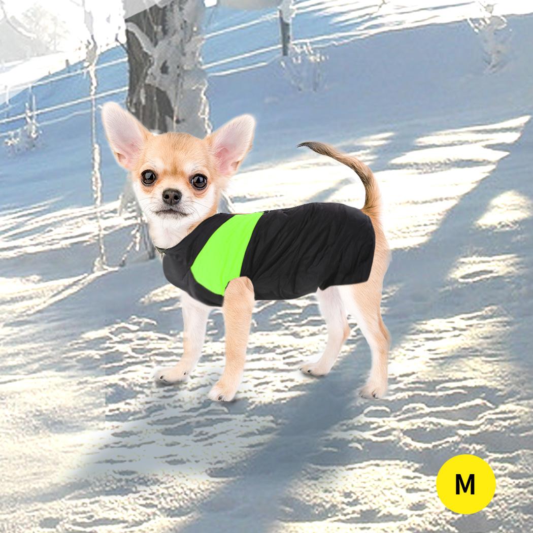 thumbnail 20 - PaWz Dog Jacket Large Pet Jackets Coat Waterproof Clothes Winter Vest Green