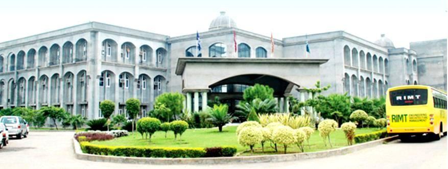 RIMT - Institute Of Engineering And Technology Image