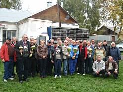 2010г. Награждение участников голубиных гонок по итогам сезона