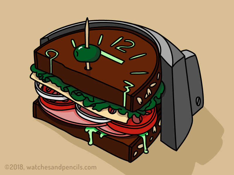 Panerai Sandwich Dial