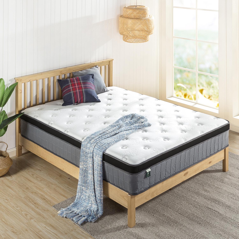 thumbnail 56 - Zinus Mattress Queen Double King Single Bed Memory Foam Pocket Spring Hybrid