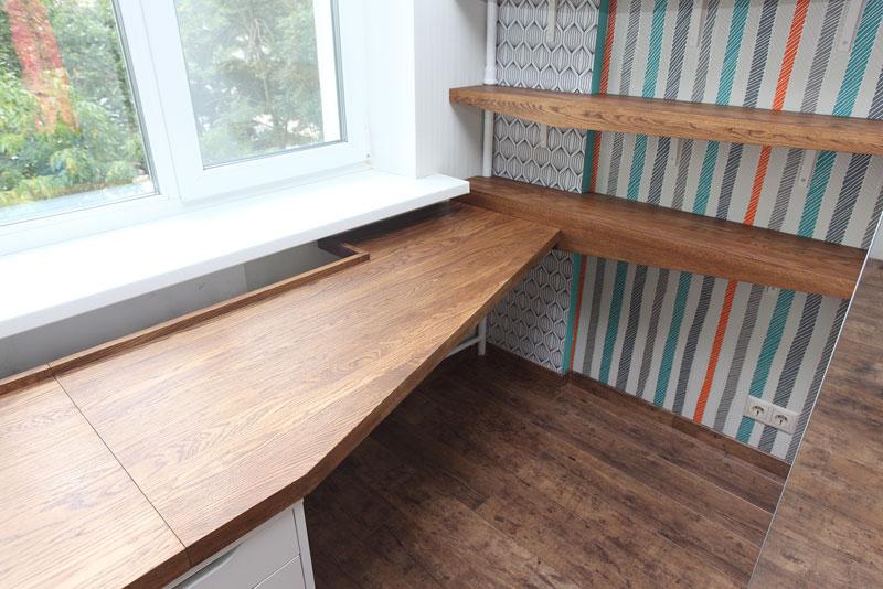 стол для детей дуб массив