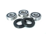 Boss Bearing 41-6269B-8G2-A Rear Wheel Bearings and Seals Kit Honda CBR600F3 ...
