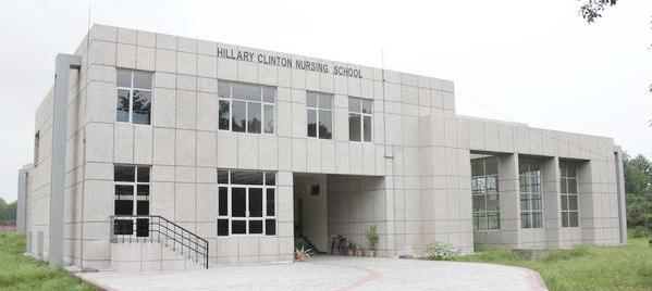 Hillary Clinton Nursing School Image