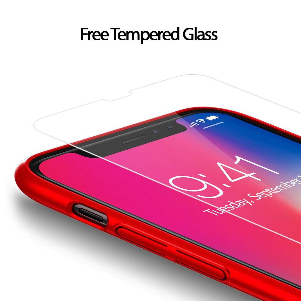 Thin-Slim-Hard-Case-Tempered-Glass-Cover-For-Apple-iPhone-X-XS-XR-Max-10-8-7-6s miniatuur 30
