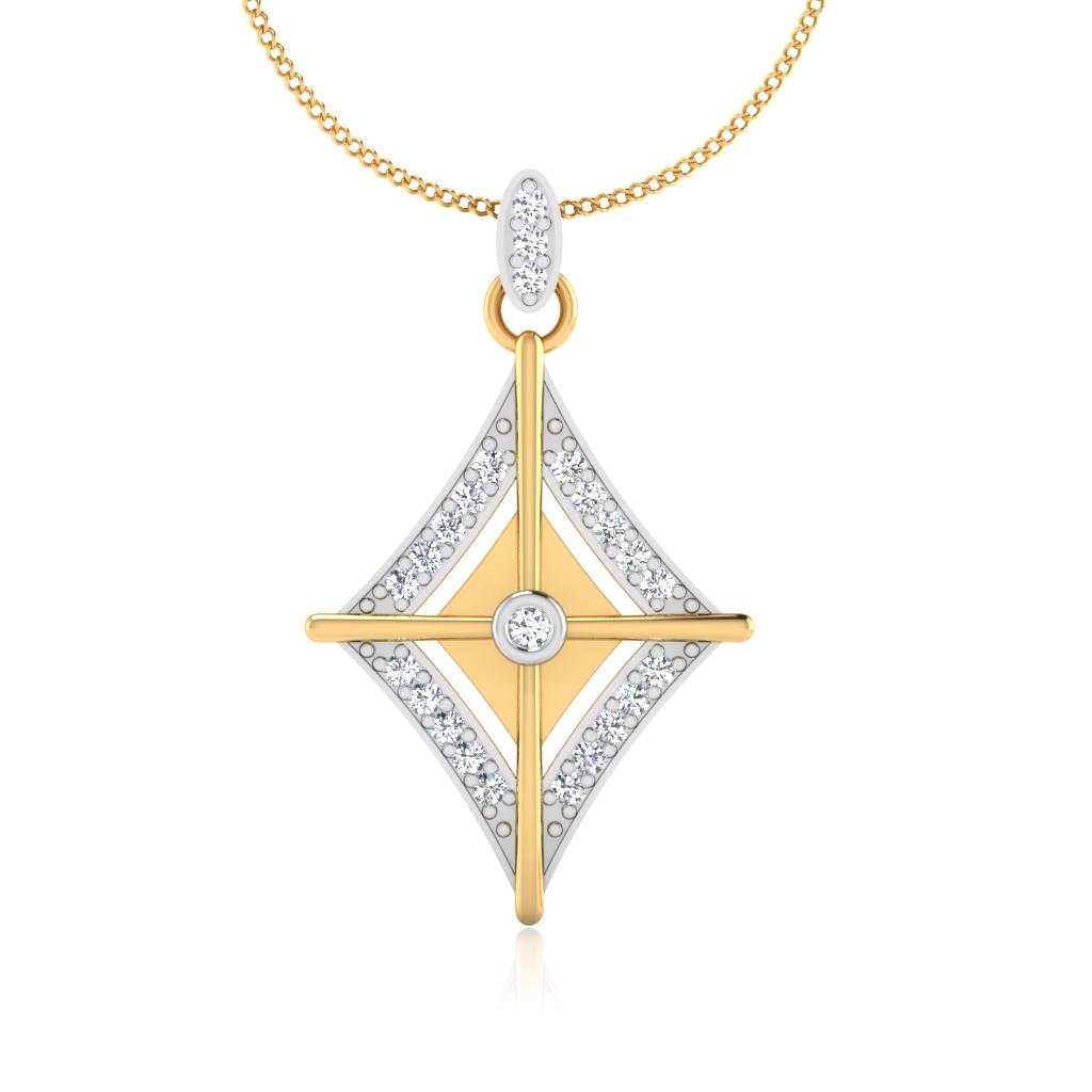 The Kismis Diamond Pendant