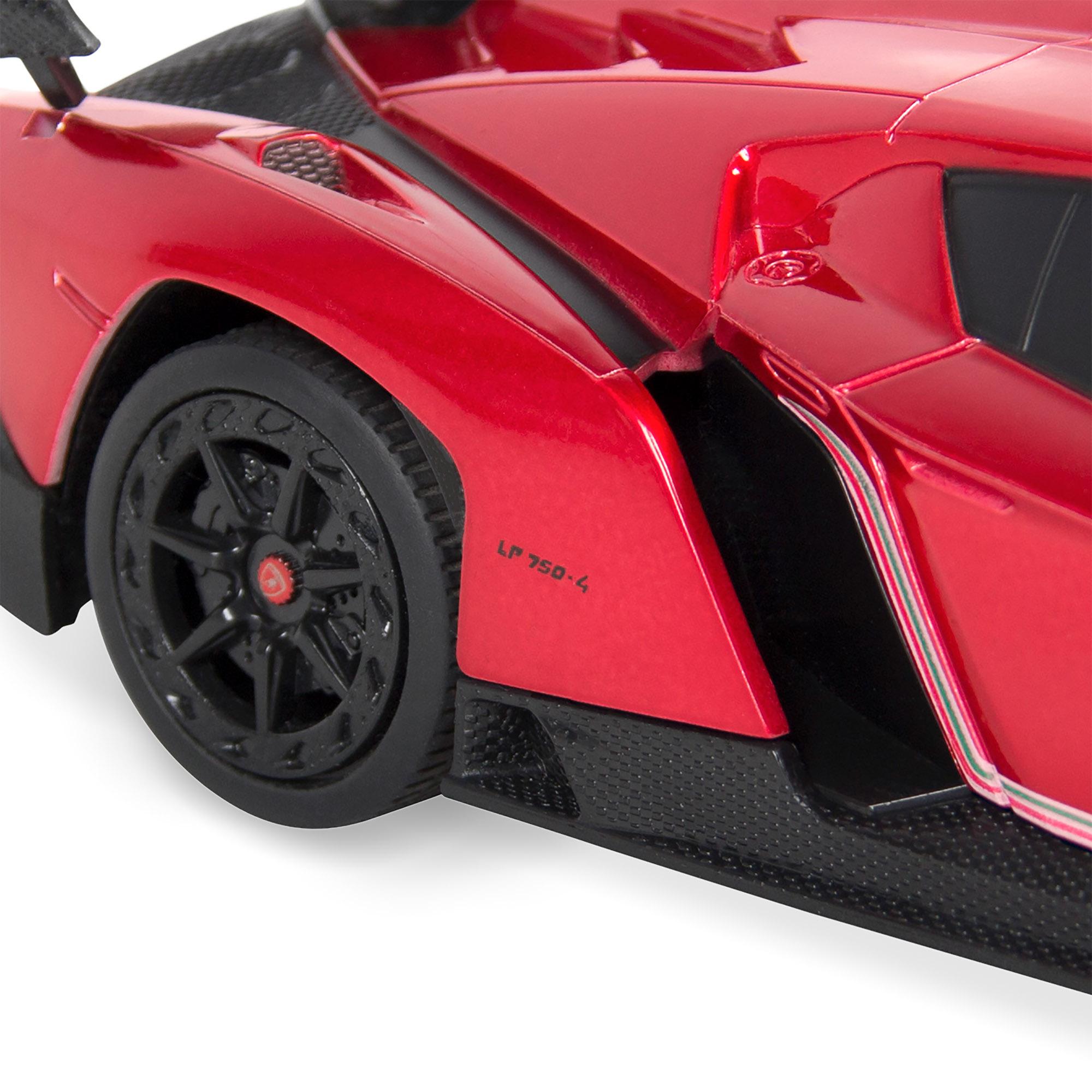 BCP-1-24-Kids-RC-Lamborghini-Veneno-Racing-Car-Toy-w-Lights-Shock-Suspension thumbnail 20