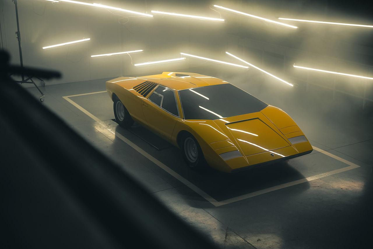 Lamborghini rebuilds the original 1971 Countach LP 500