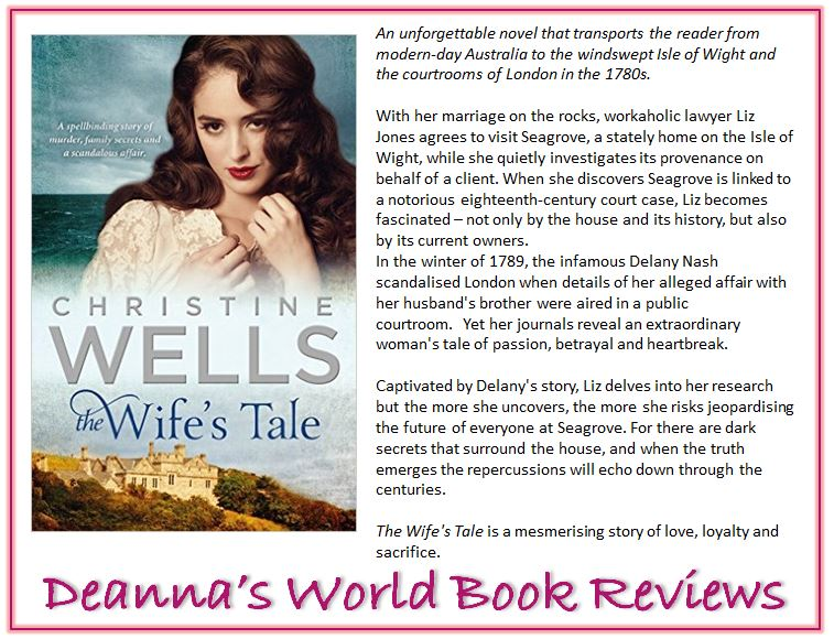 The Wife's Tale by Christine Wells blurb