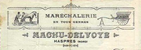 Haspres - Machu Delvoye