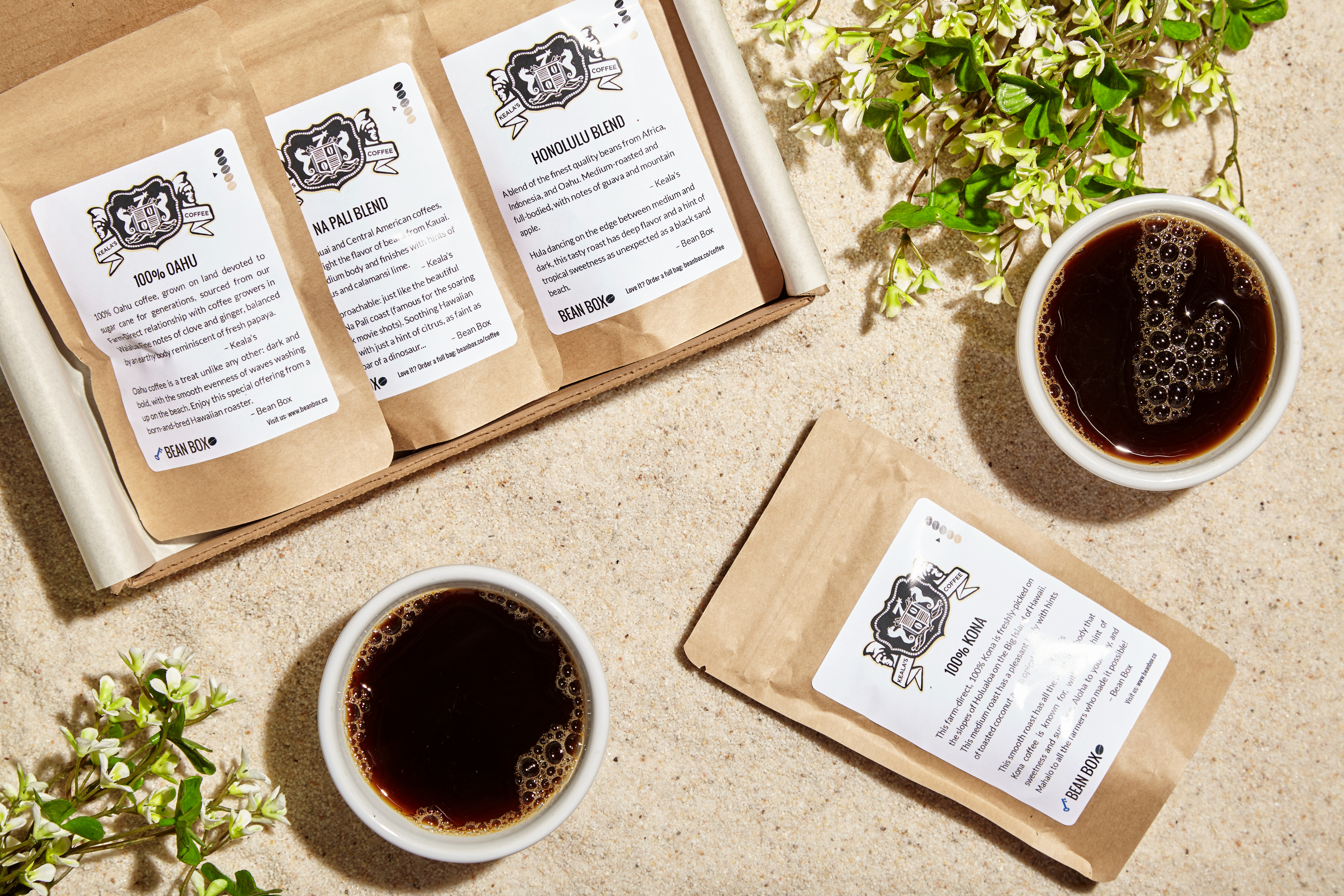 Bean Box Hawaiian Coffee Sampler