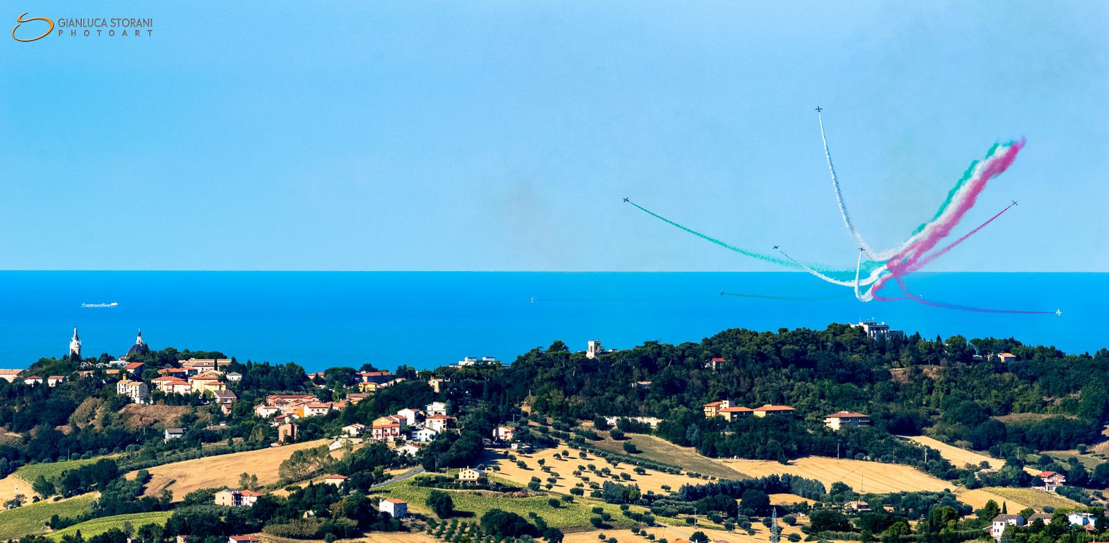 Acrobazie - Porto Recanati Air Show 2017 (ID: 4-0907)