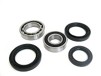 Boss Bearing 41-3327B-8B7-12 Rear Wheel Bearings and Seals Kit Yamaha YFM250 ...