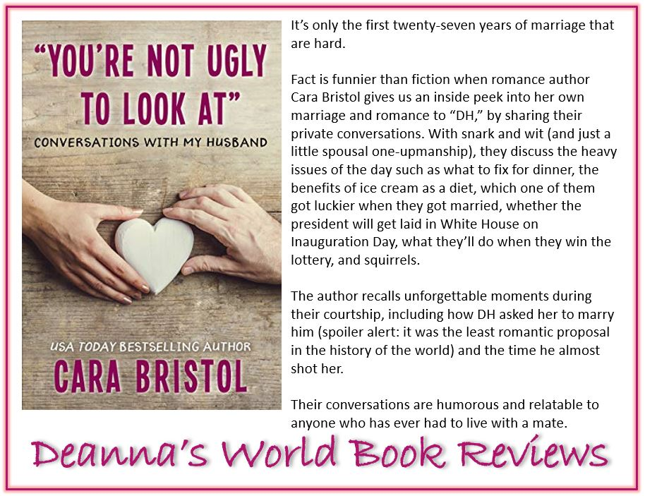 You're Not Ugly To Look At by Cara Bristol blurb