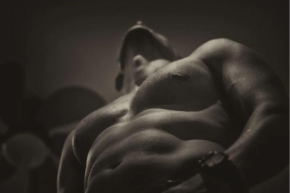 Hot guy naked torso