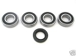 Rear Wheel Bearings and Seal Kit Yamaha YZ465 1981 ONLY