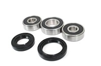 Rear Wheel Bearings and Seals Kit Yamaha PW80 1983 1984 1985 1986 1987 1988 1989