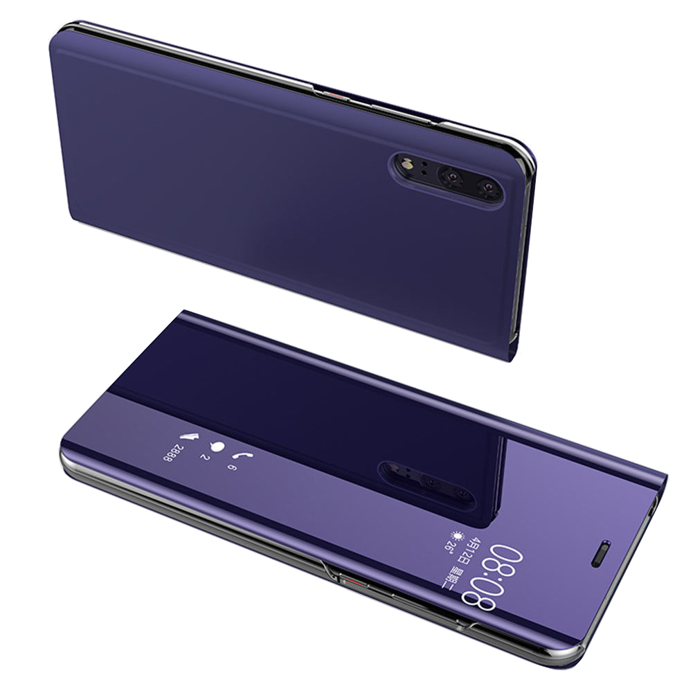 Smart-View-Mirror-Leather-Flip-Stand-Case-Cover-For-Huawei-P20-Pro-Lite-Plus-P10 miniature 71