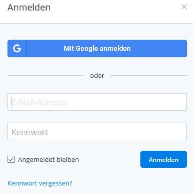 Bei den meisten Sicherheitsfunktionen von Dropbox muss man vorher zusätzlich E-Mail-Adresse + Passwort eingeben.
