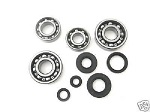 Bottom End Bearings and Seals Kit Kawasaki KX250 1980-1982 Engine